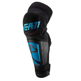 Leatt 3DF Hybrid EXT Knee & Shin Guards, nero/blu